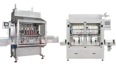 Chiny High Pressure 2KW Automatic Bottle Filling Machine For Fruit Juice Filling dostawca